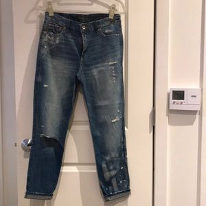 Abercrombie & Fitch High Waist Girlfriend Jean 29
